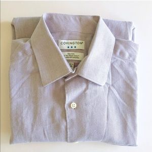Covington Easy Care Cotton Blend Shirt A012